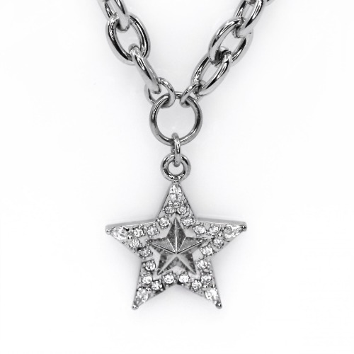 star starry necklace M