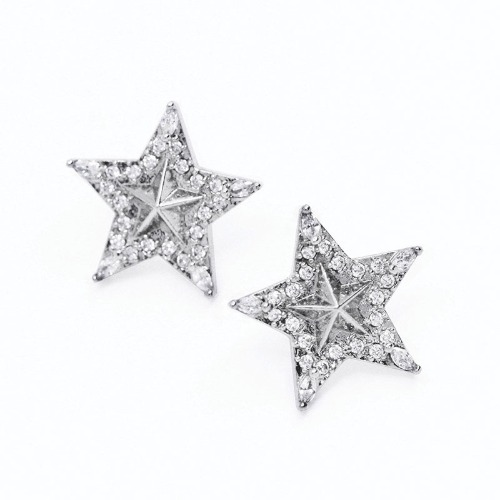star starry earrings M